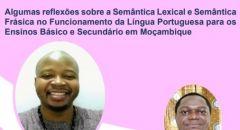 WEBINAR DA FACULDADE DE LETRAS, CIÊNCIAS SOCIAIS E HUMANIDADES