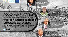 ACÇÃO HUMANITÁRIA: MUDANÇAS CLIMÁTICAS E DESLOCAMENTOS